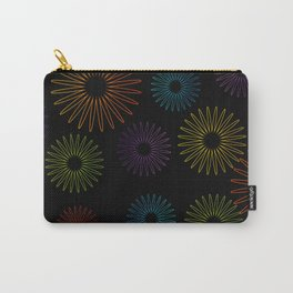 Colorful Christmas snowflakes pattern- holiday season gifts- Happy new year gifts Carry-All Pouch