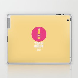 Team bride Stockholm 2017 Henparty T-Shirt D27qy Laptop & iPad Skin