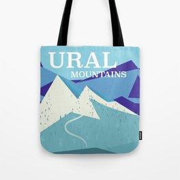 Ural Mountains Russia Tote Bag