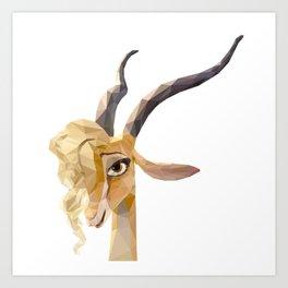 Zootopia~~Gazelle Art Print