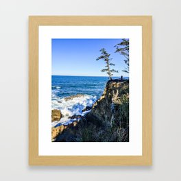 Cape Arago State Park - Oregon Coast Framed Art Print