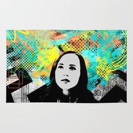 Ellen Page Inception Print Rug
