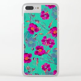 flowers / 72 Clear iPhone Case