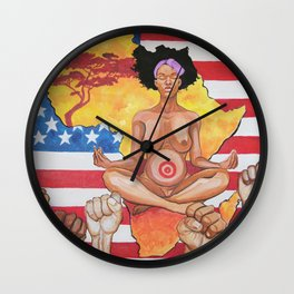 seeds of the uprising Wall Clock