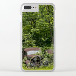 Long term parking Clear iPhone Case