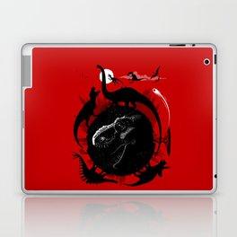 Dinos Circle Laptop & iPad Skin