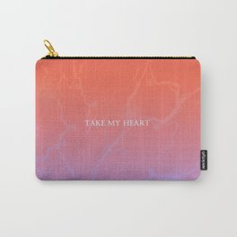Take my Heart Pattern Carry-All Pouch