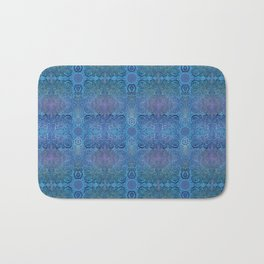 Blue Ice Weavery Temple Bath Mat