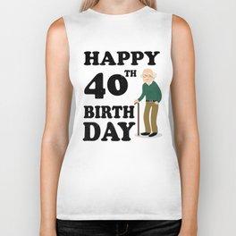 FUNNY OLD | 1978 Birthday Shirt Biker Tank