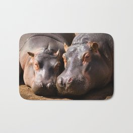 Family photo Bath Mat