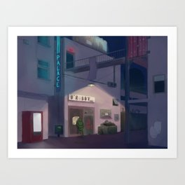 Lone Guard Art Print