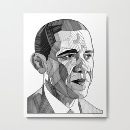 Mr. President Metal Print