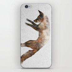 Jumping Fox iPhone & iPod Skin