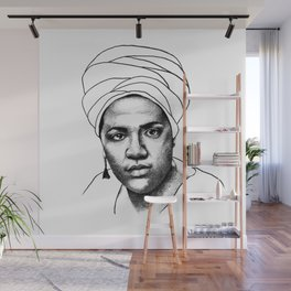 Audre Lorde Wall Mural