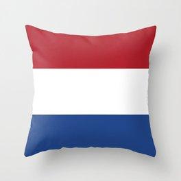 Flag: Netherland Throw Pillow
