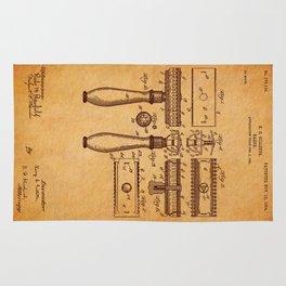 Gilette Razor patent Rug