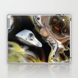 Janus - God of Beginnings, transitions, and duality - Original Abstract Painting Laptop & iPad Skin