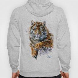 Tiger watercolor Hoodie