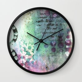 Here And There. Wall Clock
