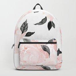 Vintage Blush Floral - BW Backpack