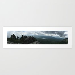 Grandfather Mountain NC Art Print