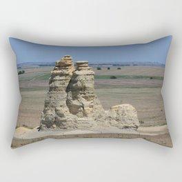 Castle Rock with blue sky Rectangular Pillow