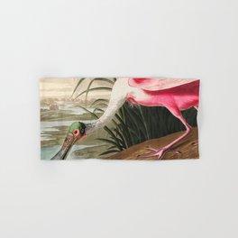 Tropical Exotic Fantasy Bird Landscape Hand & Bath Towel
