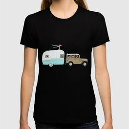 camping trip T-shirt