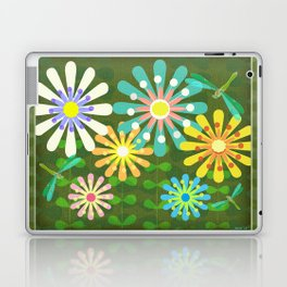 In The Garden Among The Flowers Laptop & iPad Skin