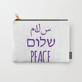 Salaam Shalom Peace Carry-All Pouch