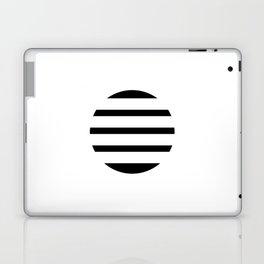 Blinding Sun Black Laptop & iPad Skin