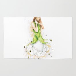Petite fleur / Little Flower Rug