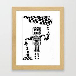 gem generator Framed Art Print