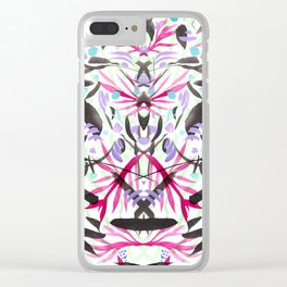 Berry Exotic Jungle #2 Clear iPhone Case