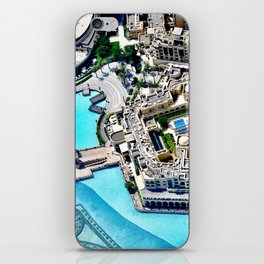 Dubai Fountain iPhone Skin