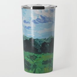 Summer Field Travel Mug