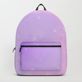 Purple Stars in a Candy Sky Backpack