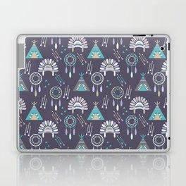 Indian Pattern Purple Laptop & iPad Skin