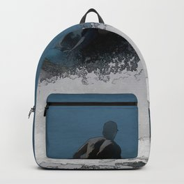 Ready to Make Waves - Jet Skier Backpack