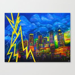 City of Bolts Canvas Print