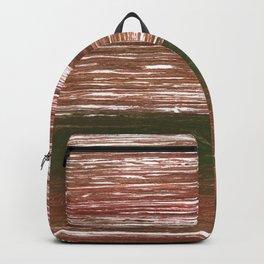 Van Dyke Brown abstract watercolor Backpack