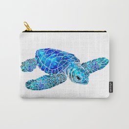 Sea Turtle Watercolor Art Carry-All Pouch