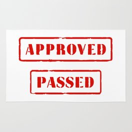 Approved and Passed Rug