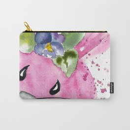 Easter Bunny Peek A Boo Carry-All Pouch