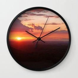 Chilterns Sunset Wall Clock