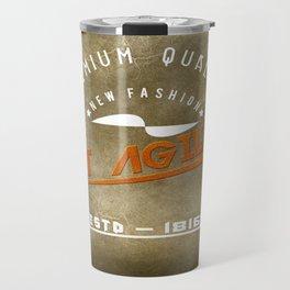 Art Agility Premium Quality Retro Travel Mug