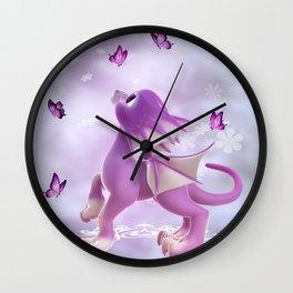 Little Dragon 2 Wall Clock