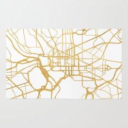 WASHINGTON D.C. DISTRICT OF COLUMBIA CITY STREET MAP ART Rug