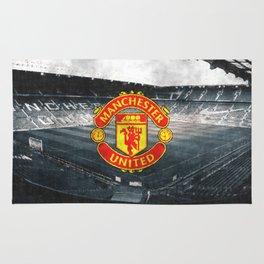 FC Manchester United sketch Rug