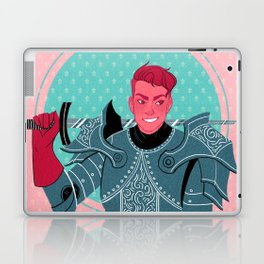 Lieutenant of the Bull's Chargers Laptop & iPad Skin